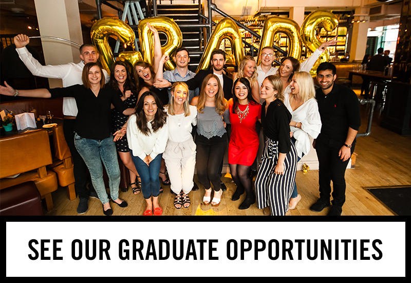 Graduate opportunities at The Old Market Tavern