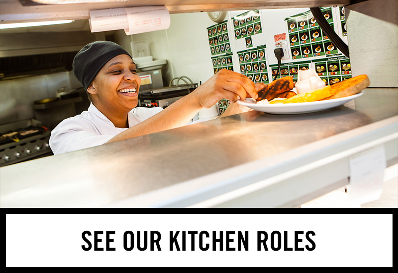 Kitchen roles at The Old Market Tavern