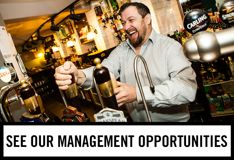 Management opportunities at The Old Market Tavern