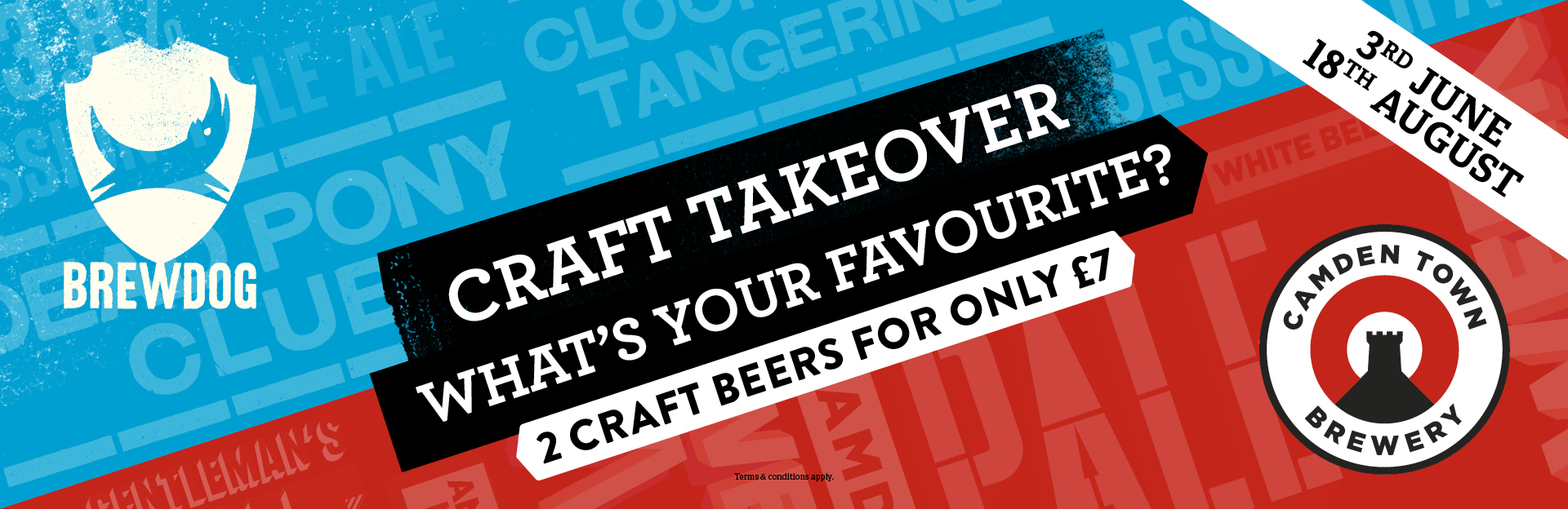 Craft Takeover at The Old Market Tavern